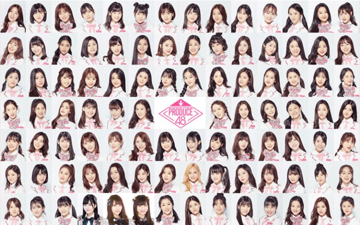 """AKB48が挑む""""もう一つの総選挙""""韓国アイドルとガチンコ対決する『PRODUCE48』っていったい何!?の画像"""