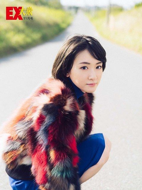 【未公開ショット】乃木坂46・生駒里奈さん編<EX大衆11月号>の画像004