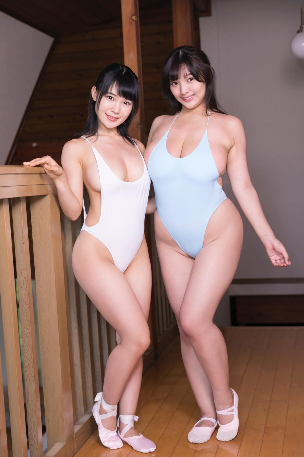 佐々野愛美と工藤唯の水着画像3