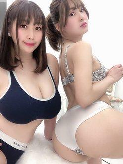 池尻愛梨&AKO「日本一の尻とバストがコラボ!」最高級のボリューム感【画像3枚】の画像