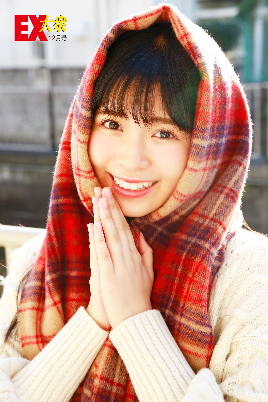 NMB48安田桃寧の本誌未掲載カット4枚を大公開!【EX大衆12月号】の画像004