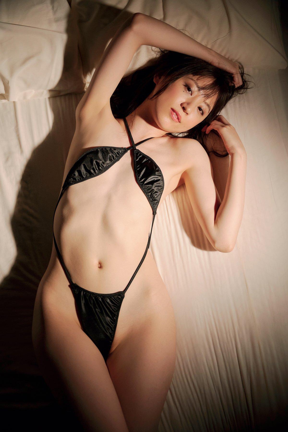 船岡咲「元ジュニアモデル」スレンダー美女のぷりぷり尻【画像10枚】の画像009
