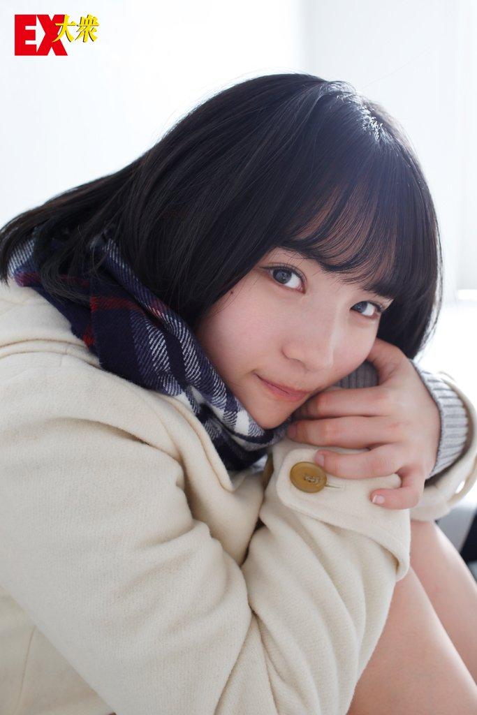 AKB48矢作萌夏の本誌未掲載カット8枚を大公開!【EX大衆2月号】の画像002