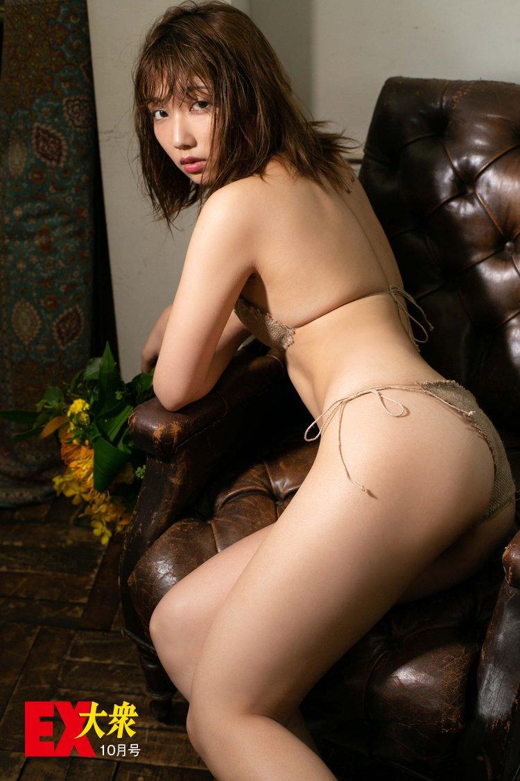 霜月めあの本誌未掲載カット6枚を大公開!【EX大衆10月号】の画像006