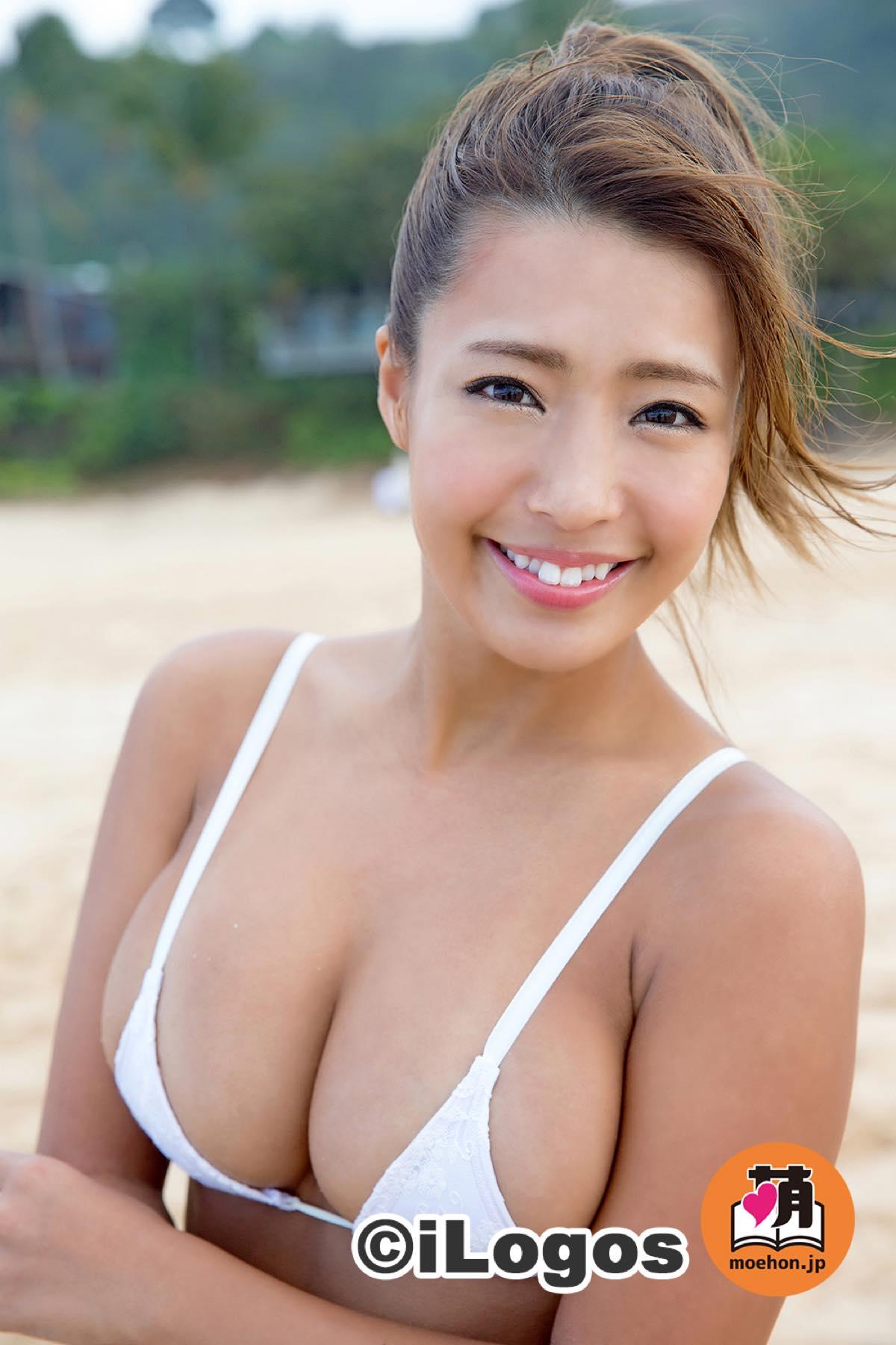 橋本梨菜「日本一太陽が似合う」小麦肌セクシー美女004