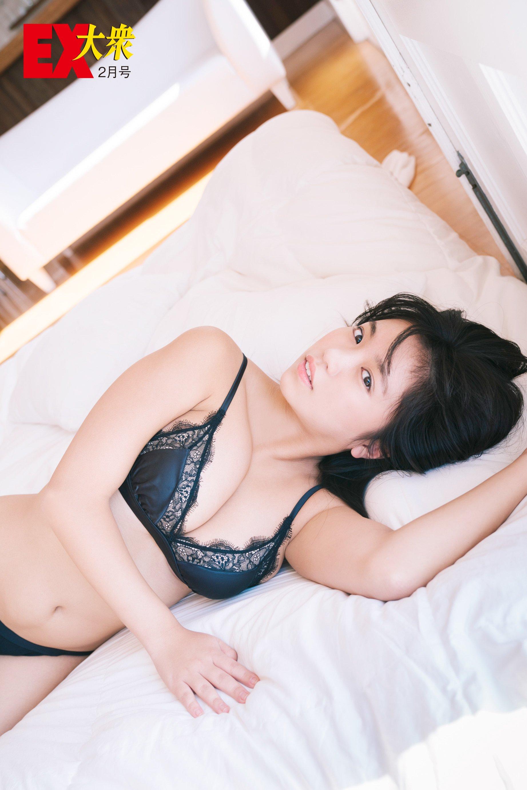 大原優乃の本誌未掲載カット14枚を大公開!【EX大衆2月号】の画像006