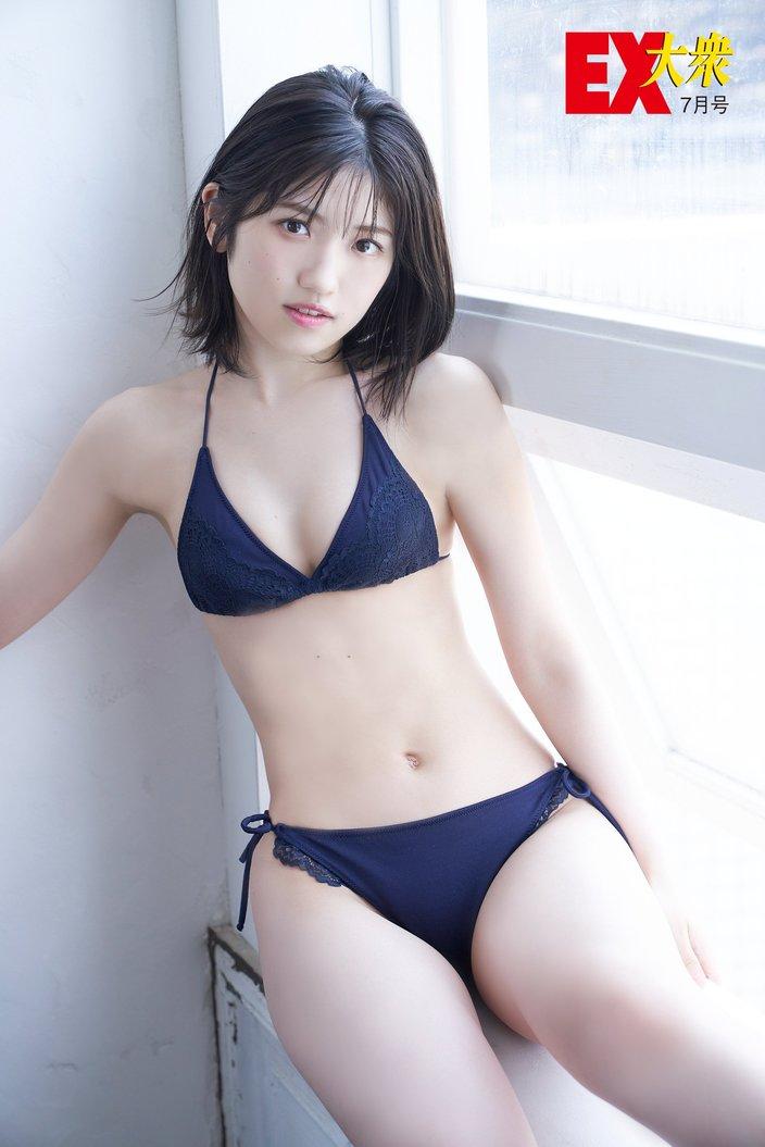 AKB48村山彩希の本誌未掲載カット10枚を大公開!【EX大衆7月号】の画像