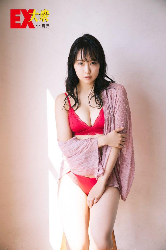 NMB48加藤夕夏の本誌未掲載カット5枚を大公開!【EX大衆11月号】の画像