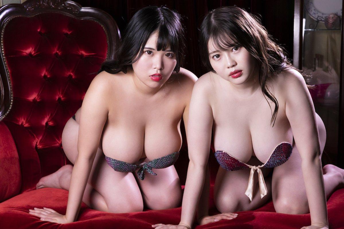 衝撃のJカップコンビ!伊川愛梨と池田レイのバストがぶつかり合い【画像12枚】の画像010