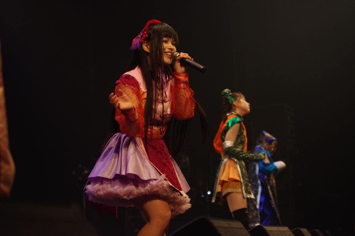 """めろん畑 a go go""""ロッキンなマスクアイドル""""が、新たな仲間とワンマンライブを開催!【写真22枚】の画像009"""