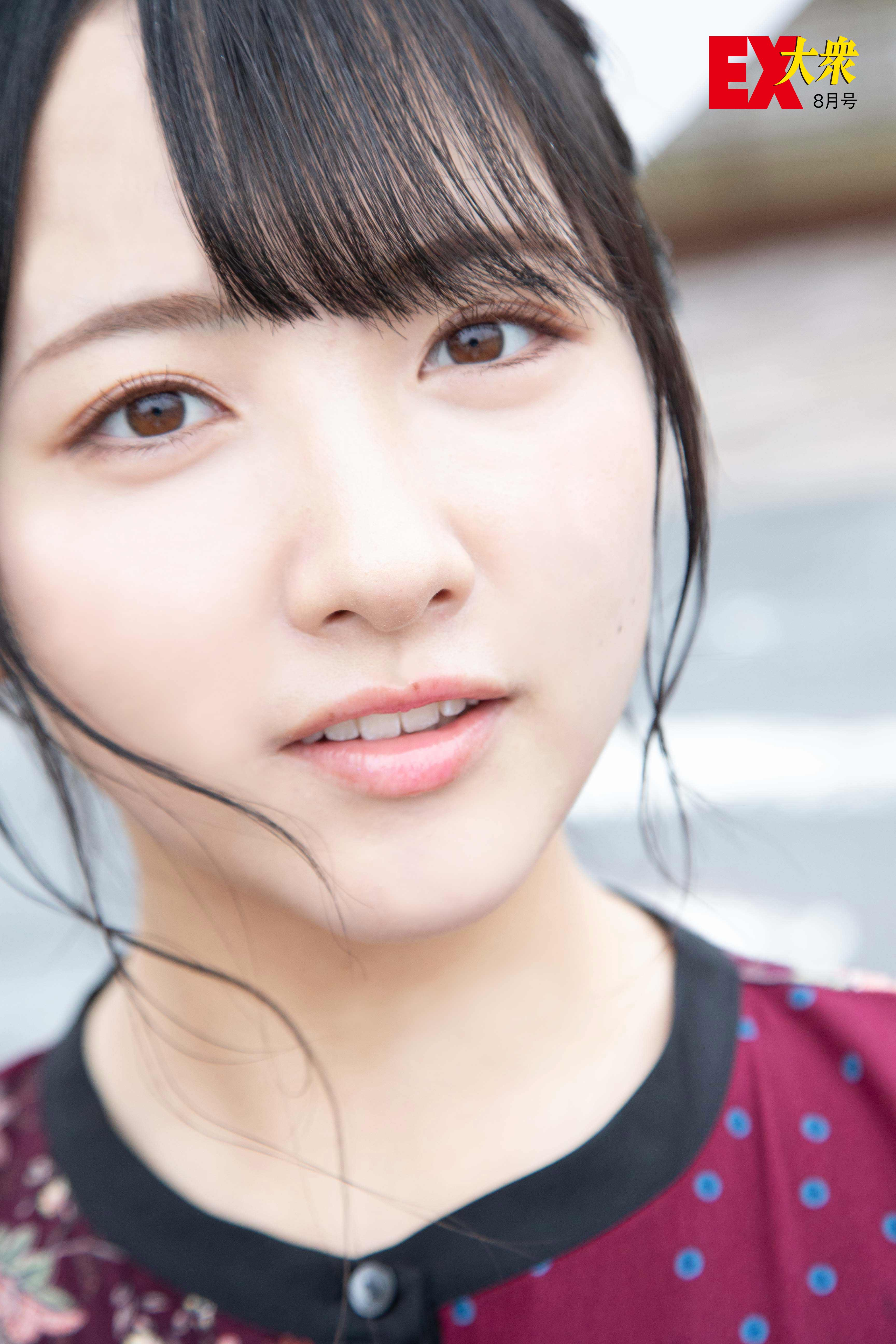 STU48石田千穂の本誌未掲載カット3枚を大公開!【EX大衆8月号】の画像002