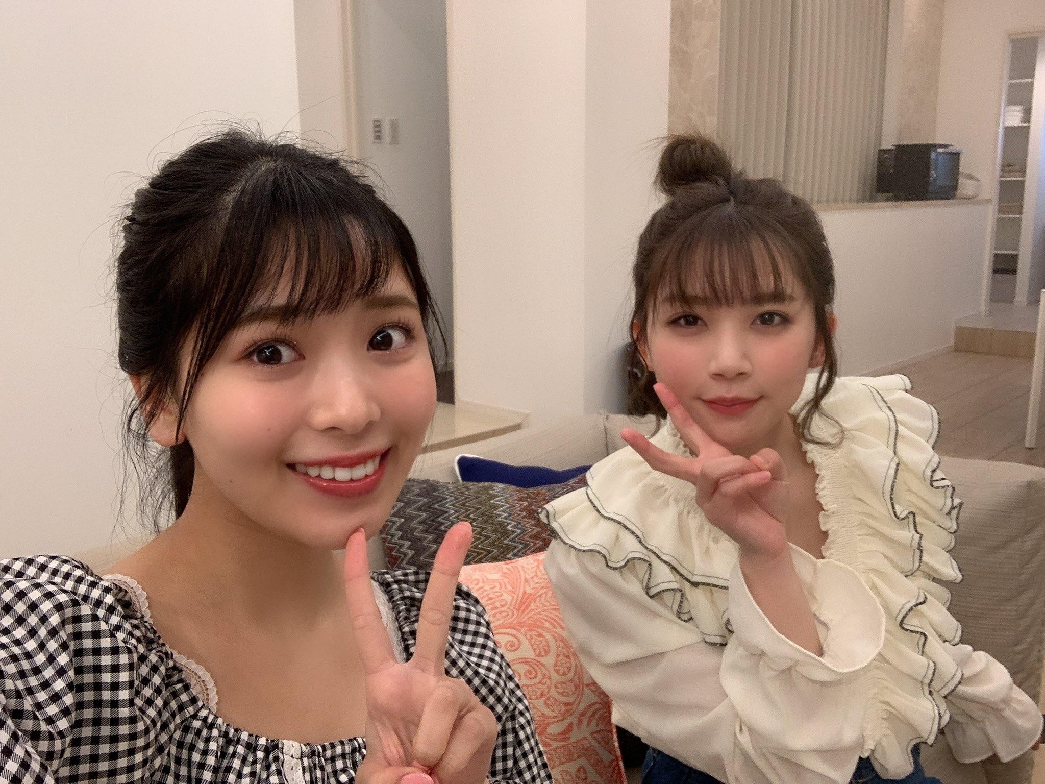 NGT48奈良未遥「嬉しすぎる組み合わせ…」NMB48安田桃寧とビキニで仲良くツーショット【画像3枚】の画像003