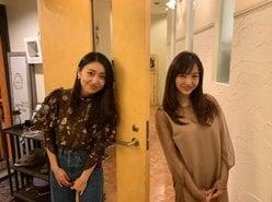 板野友美「レアな写真!」距離を保って大島優子とのツーショットを公開の画像
