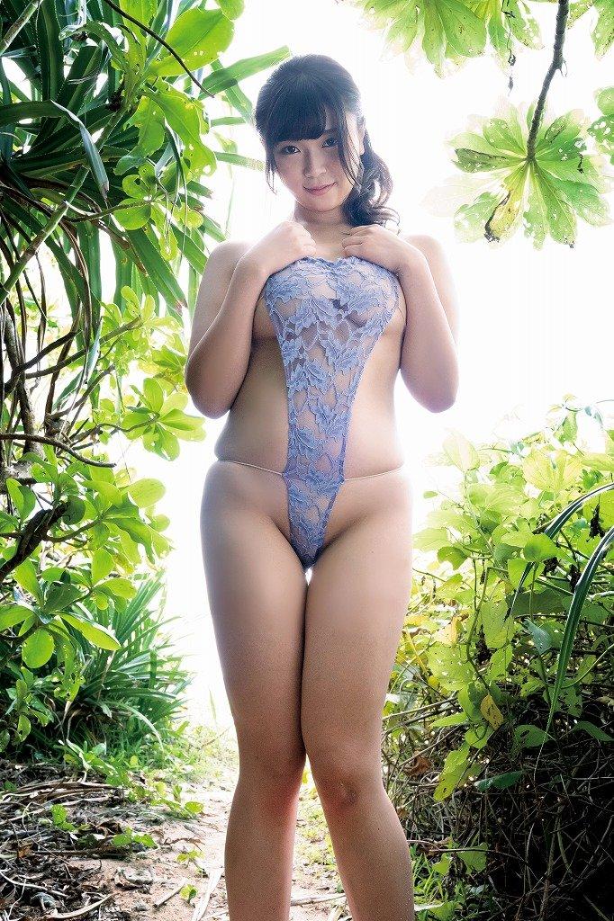 芦屋芽依のグラビア水着ビキニ画像5