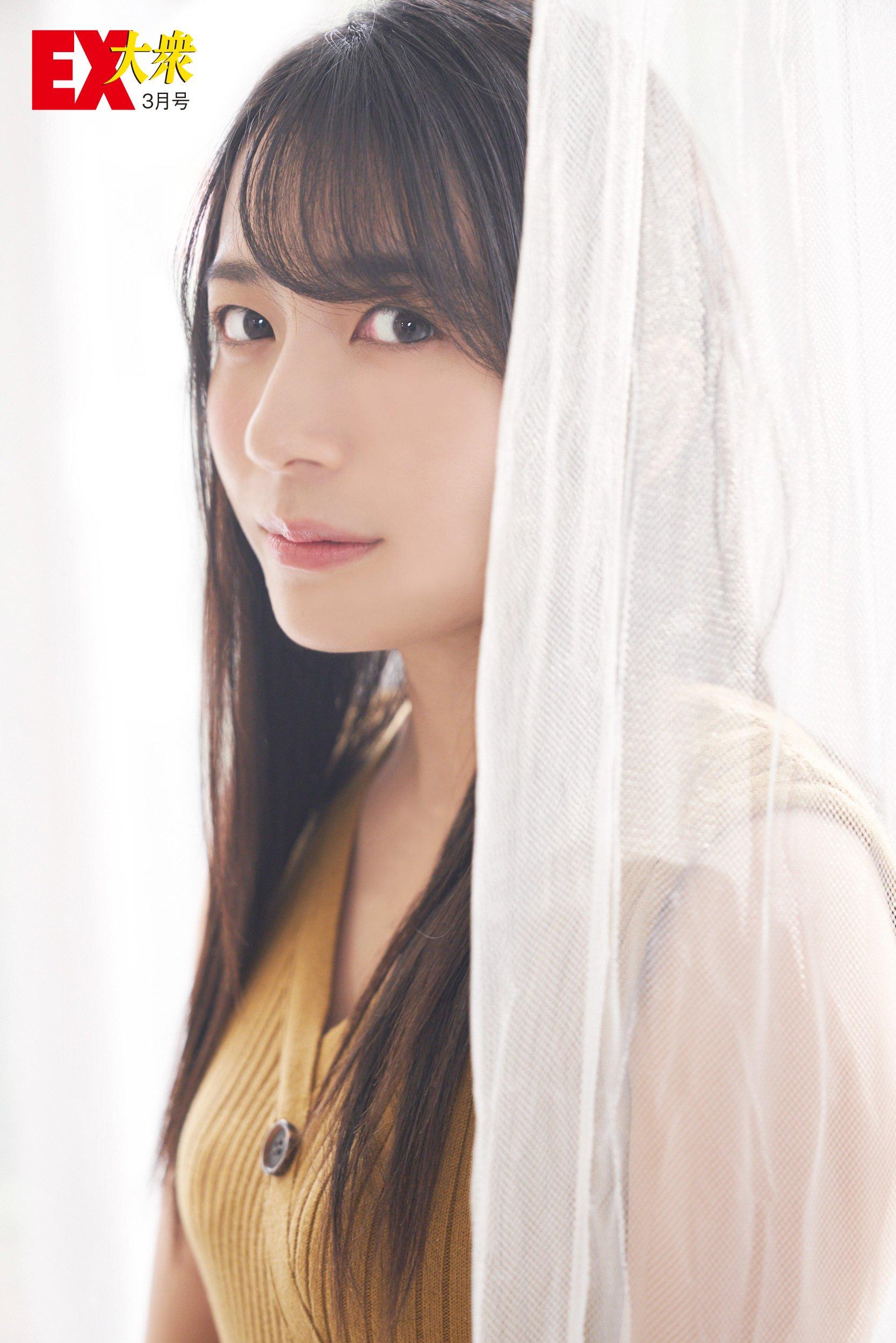 AKB48佐々木優佳里と福岡聖菜の本誌未掲載カット3