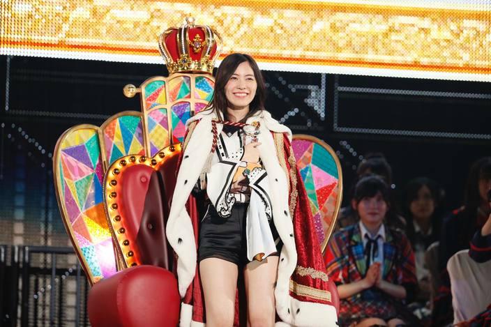 松井珠理奈が1位になったAKB48総選挙、地元SKE48が24名ランクイン!の画像