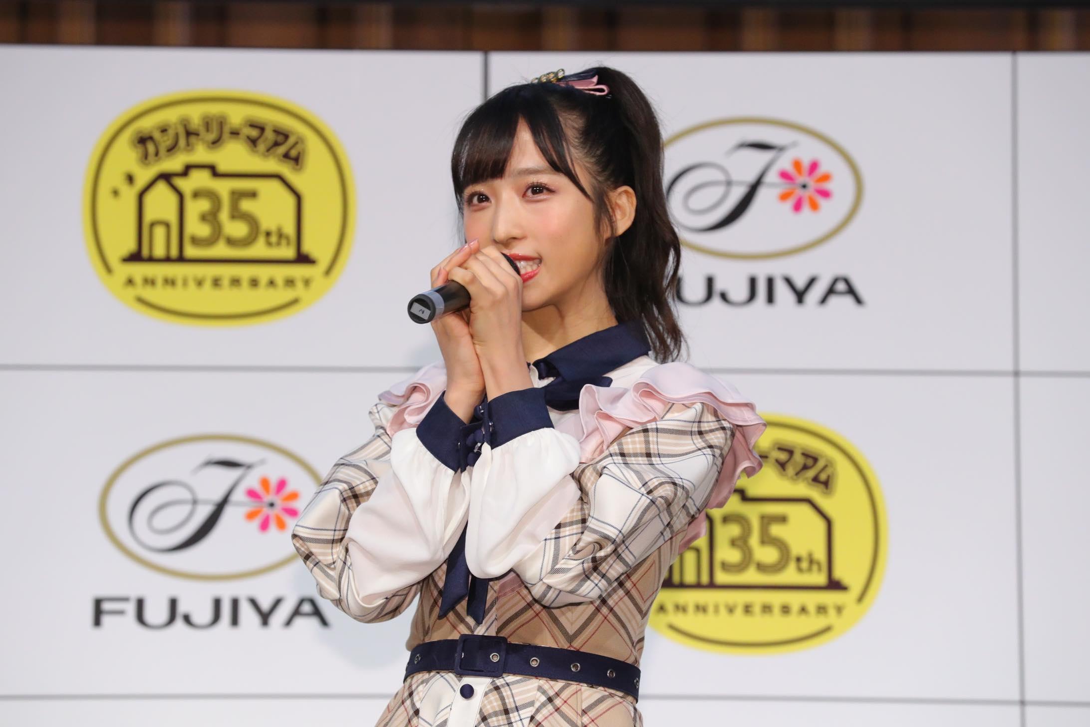 AKB48小栗有以「タピオカミルクティー味」をカントリーマアムの新味に提案【写真32枚】の画像001